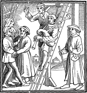 Minstrel condemned to the Gallows