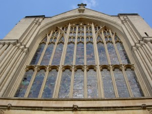 Norwich Cathedral stained glass window