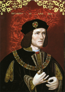 Richard III Oil on Panel Late 16th Century