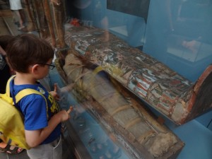 Thomas and a Mummy